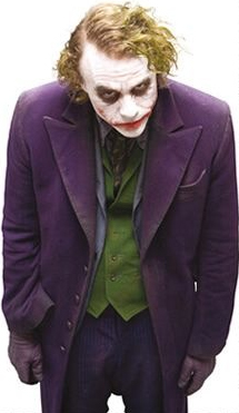 joker Heath Ledger, vivo como nunca!