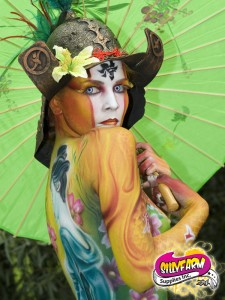 Body Painting de Alex Hansen e Nicholas Herrera vencedor do World Body Painting 2008