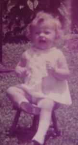 Eu com 1 ano