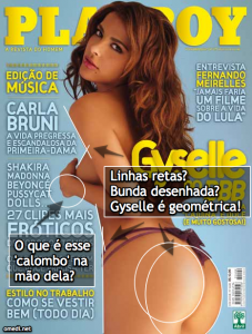gyselle2 227x300 Photoshop descarado na capa da Playboy de Gyselle do BBB
