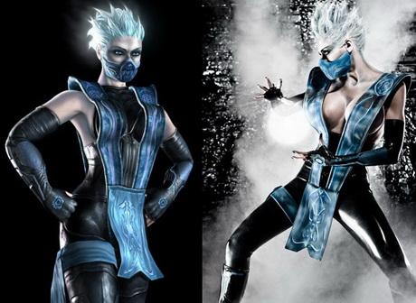 Marie-Claude Bourbonnais como Frost de Mortal Kombat