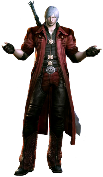 1 Dante DMC41 Top 20 personagens masculinos mais bonitos dos games