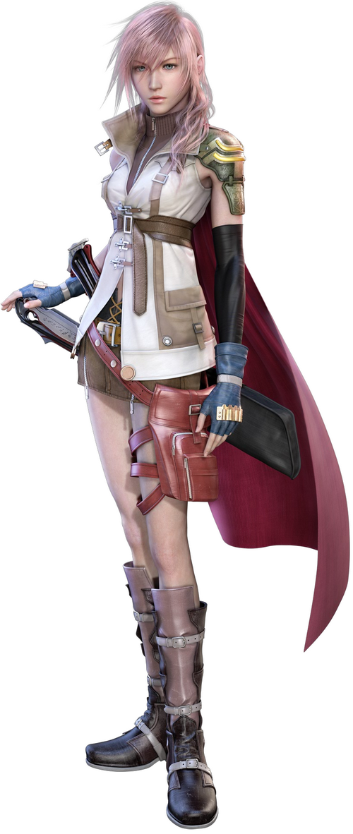 1ª - Lightning - Final Fantasy XIII