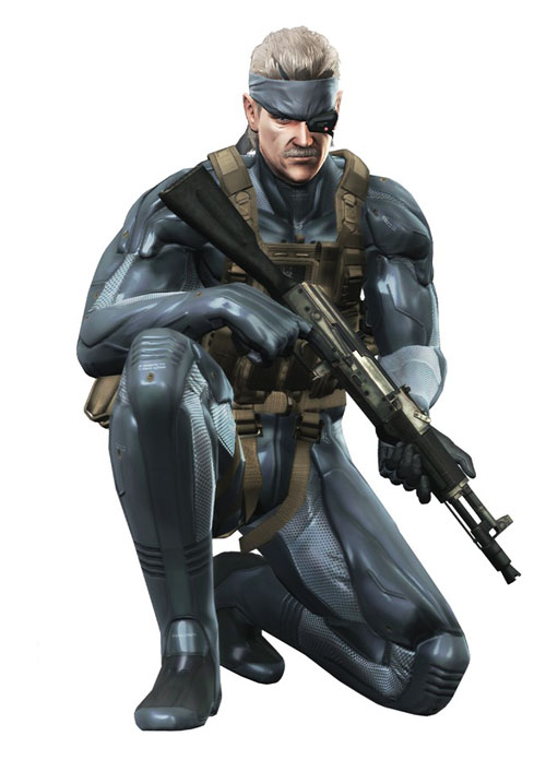 10 solid snake mgs4 Top 20 personagens masculinos mais bonitos dos games
