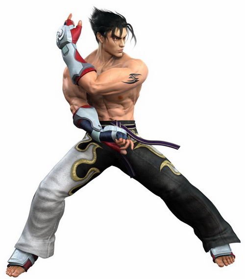 17 jin kazama tekken5 Top 20 personagens masculinos mais bonitos dos games