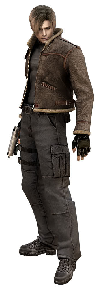 4 leon scott kennedy re4 Top 20 personagens masculinos mais bonitos dos games