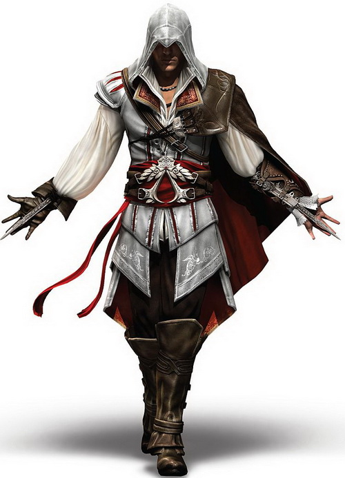 5 ezio assassins creed2 Top 20 personagens masculinos mais bonitos dos games