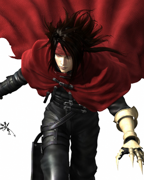 7 vincent valentine ffvii Top 20 personagens masculinos mais bonitos dos games