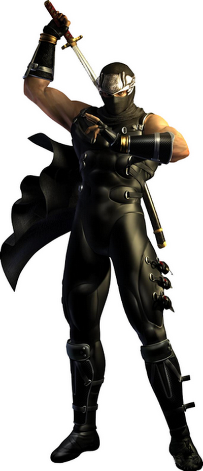 8 ryu ninjagaiden Top 20 personagens masculinos mais bonitos dos games