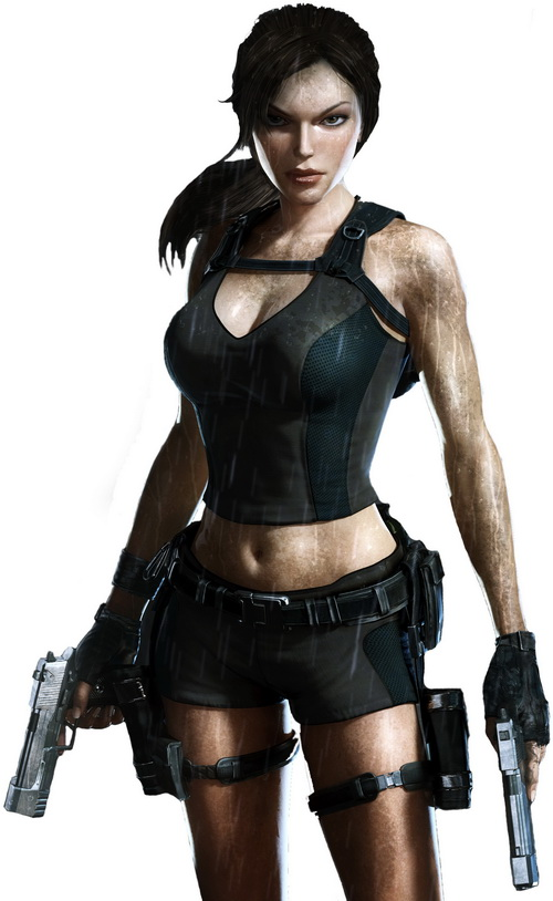 laracroft underworld Top 20 personagens femininas mais bonitas dos games