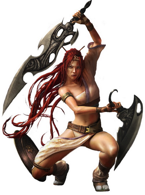 10º - Nariko - Heavenly Sword