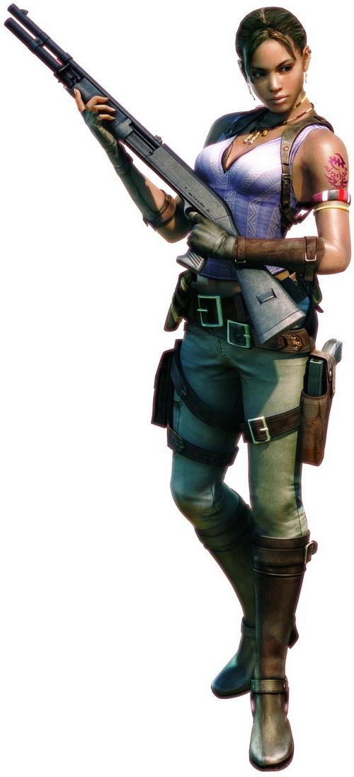 4º - Sheva Alomar - Resident Evil 5