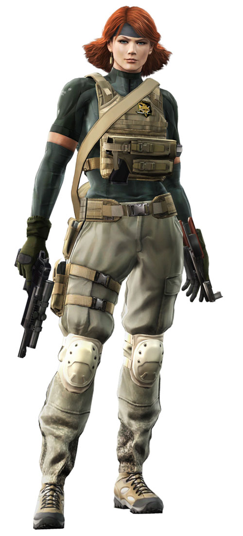 20º - Meryl Silverburgh - Metal Gear Solid 4