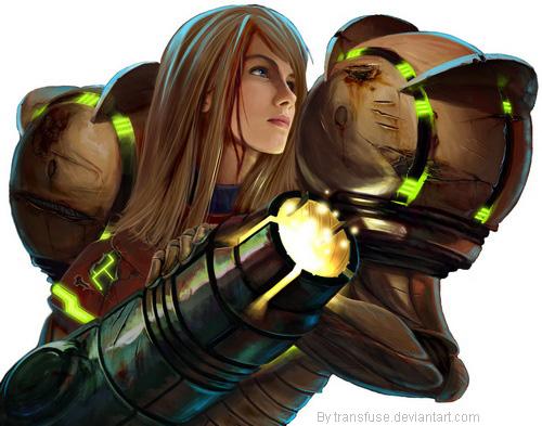 8º - Samus Aran - Metroid Prime