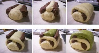 Tutorial de montagem do pão com carinha de panda