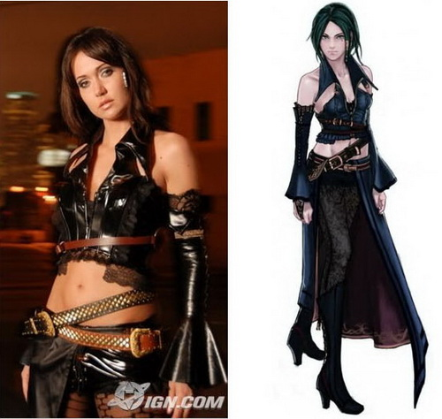 Jessica Chobot como Alicia-Bullet Witch