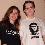 Eu e o filhotão nerd!