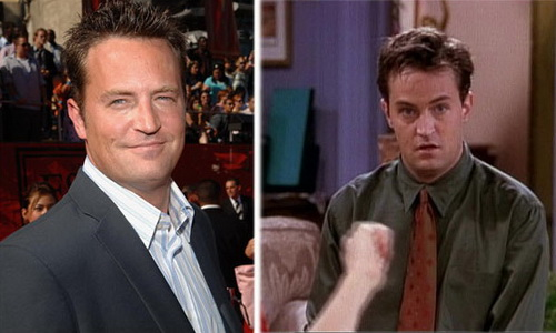 Matthew Perry e Chandler Bing