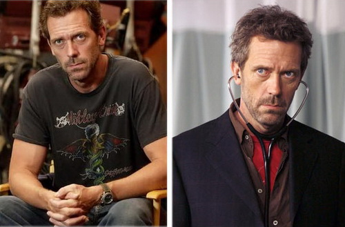 Hugh Laurie e Dr. House