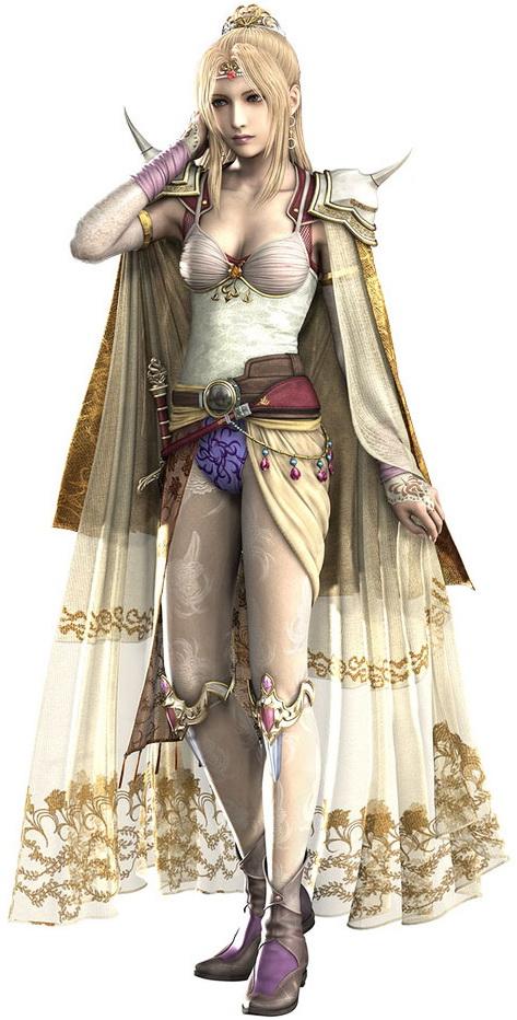 RosaJoannaFarrel FF IV Top 20 personagens femininas mais bonitas dos games   2ª edição