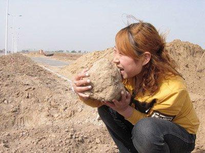 Geofagia - ingerir terra ou solo
