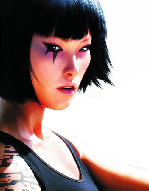 faithmirrorsedge Top 20 personagens femininas mais bonitas dos games   2 edio