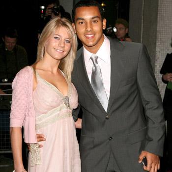 Melanie Slade e Theo Walcott
