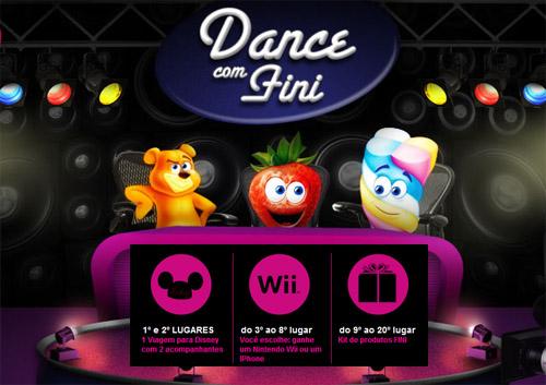 Concurso Cultural Dance com Fini