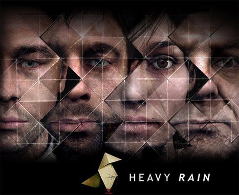 heavyrain Heavy Rain vai mesmo virar filme!