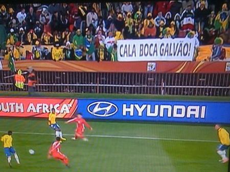 Foto de @araujodany  do jogo Brasil e Coréia do Norte