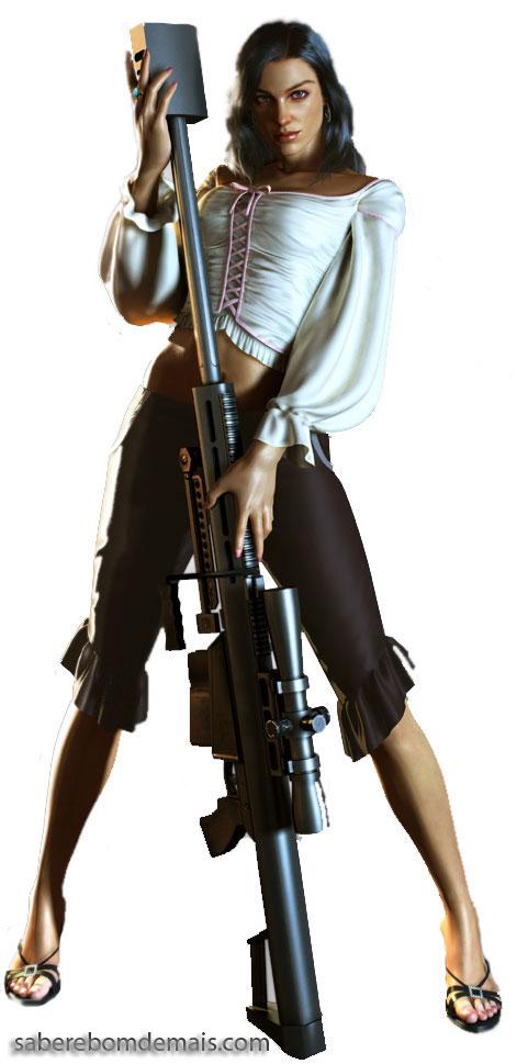 Isabela Keyes - Dead Rising