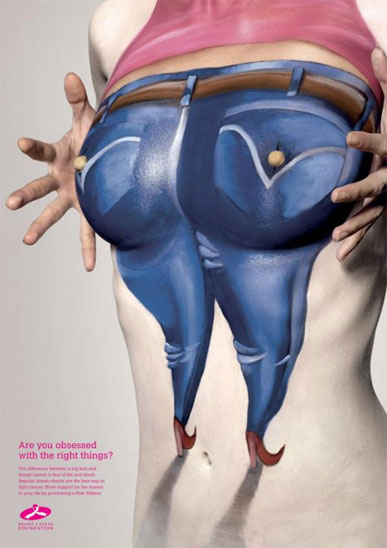 Breast Cancer Foundation Advertising3 Campanha ultra genial sobre câncer de mama