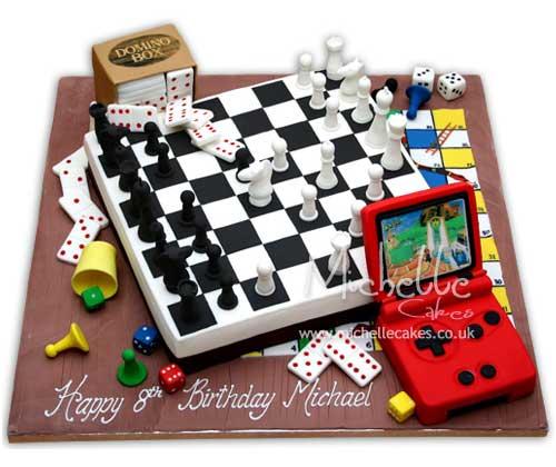 Games cake