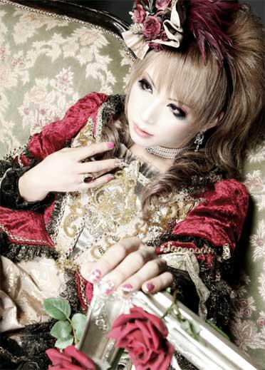 Guitarrista Hizaki da banda Versailles