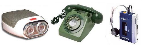 Top gadgets inventados nas décadas de 60, 70 e 80