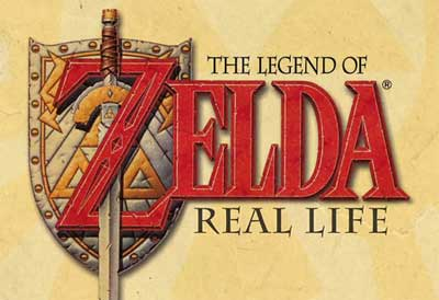 zeldareallife The Legend of Zelda representado na vida real!