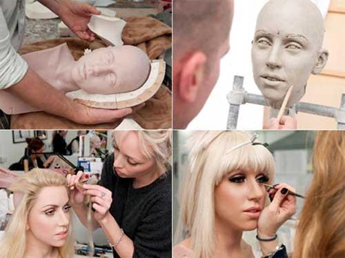 Lady Gaga de cera para Madame Tussouds