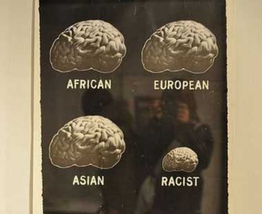 racistbrain Imagem: o crebro de um racista