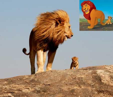 Mufasa e Simba