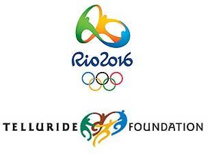 Logo do Rio 2016 e sua semelhança com o logo da fundação Telluride