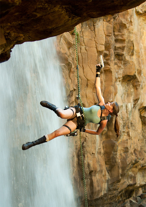 Real Lara Croft!