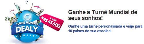 turne dealy Promoo valendo uma turn dos sonhos!!