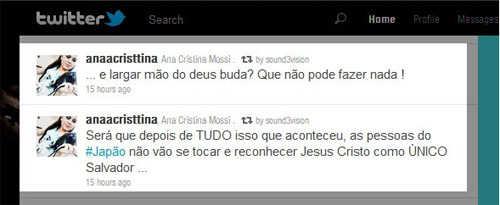 twitter Exemplo de compaixo crist...