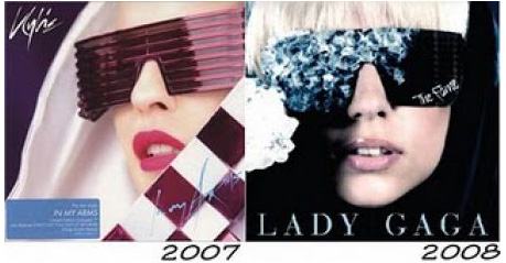 Lady Gaga é uma tremenda copy & paste!