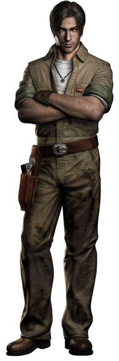 David King - Resident Evil Outbreak