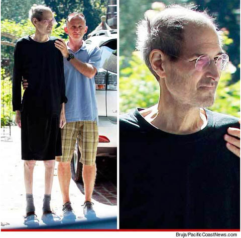 Steve Jobs Steve Jobs aparece visivelmente devastado pelo cncer