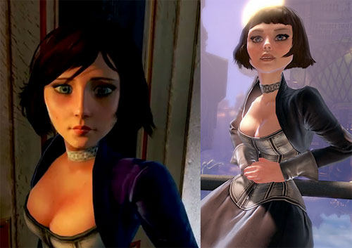 elizabeth bioshockinfinite Belíssima cosplay de Elizabeth do game BioShock Infinite