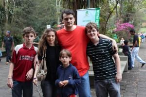 Família Castro no Zoo
