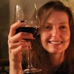 Brindando com vinho