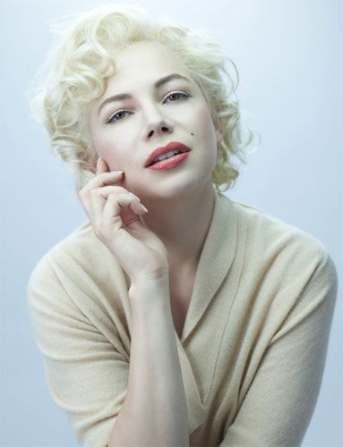 Michelle Williams Michelle Williams está perfeita como Marilyn Monroe!